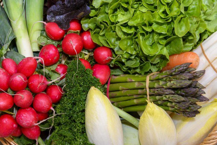 Pfalzmarkt fresh vegetables