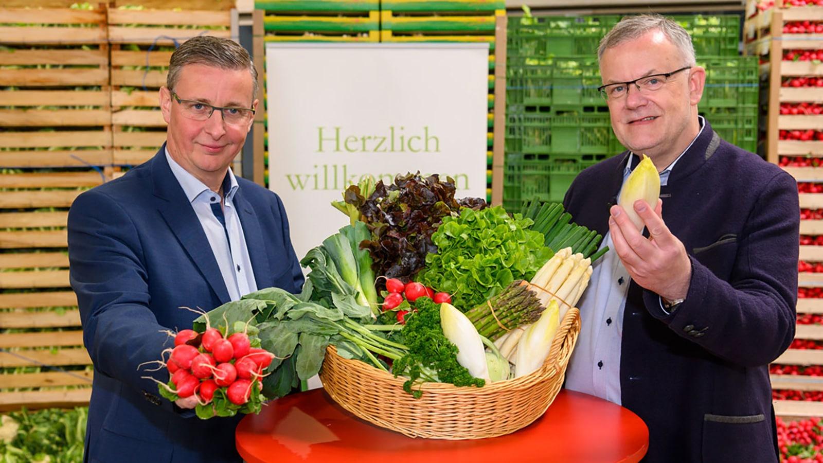 Pfalzmarkt Saisonstart 2019 mit dem Vorstand des Pfalzmarktes
