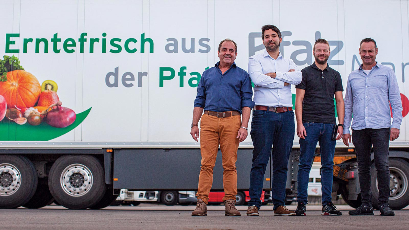 Pfalzmarkt Logistik Team