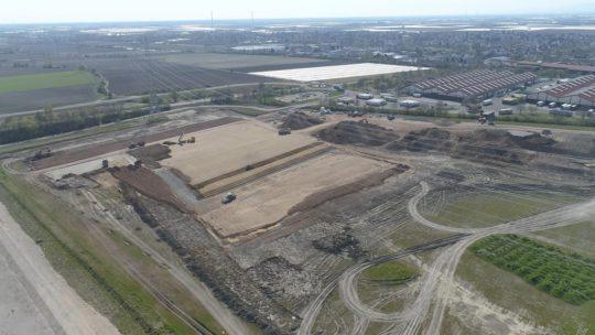 Pfalzmarkt Standorterweiterung Baustelle Juni 2020