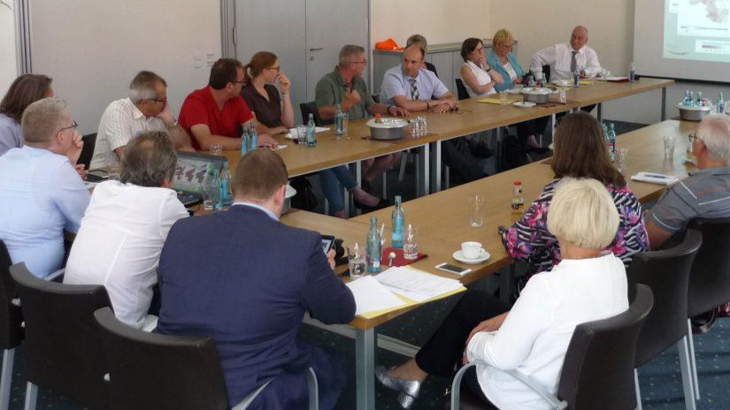 Besuch der FDP-Landtagsfraktion im Pfalzmarkt am 4. Juli 2017