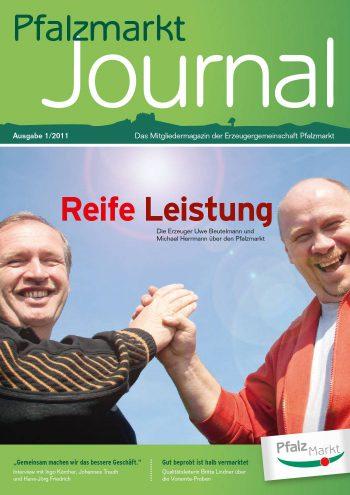 Cover Pfalzmarkt Journal, Ausgabe 2011-1