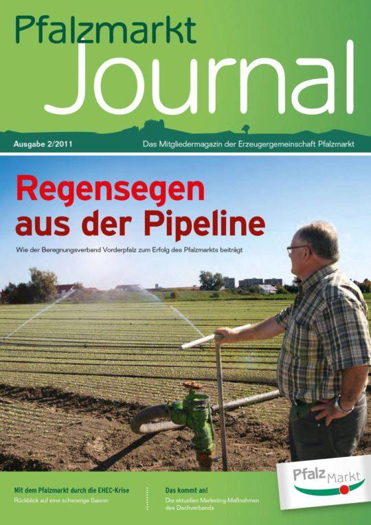 Cover Pfalzmarkt Journal, Ausgabe 2011-2