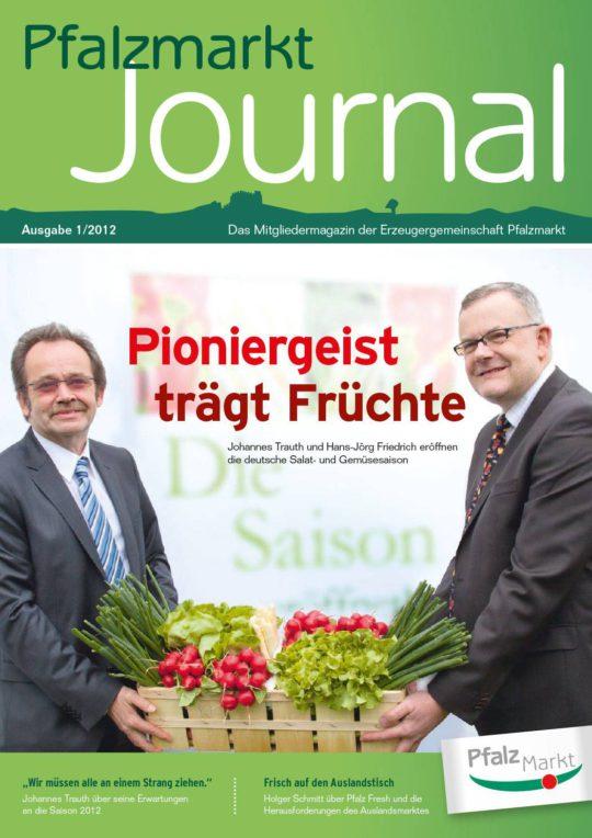 Cover Pfalzmarkt Journal, Ausgabe 2012-1