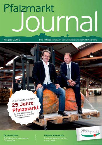 Cover Pfalzmarkt Journal, Ausgabe 2012-2
