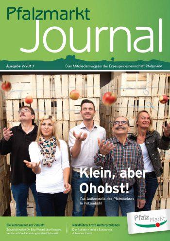 Cover Pfalzmarkt Journal, Ausgabe 2013-2