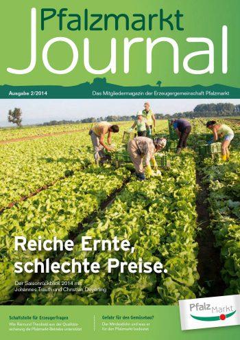 Cover Pfalzmarkt Journal, Ausgabe 2014-2