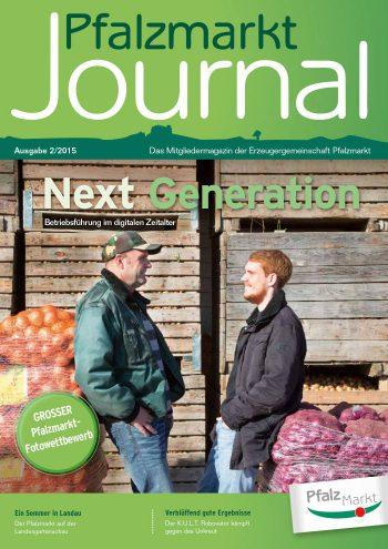 Cover Pfalzmarkt Journal, Ausgabe 2015-2