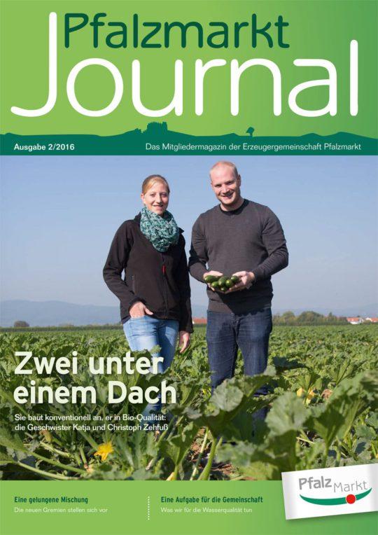 Cover Pfalzmarkt Journal, Ausgabe 2016-2