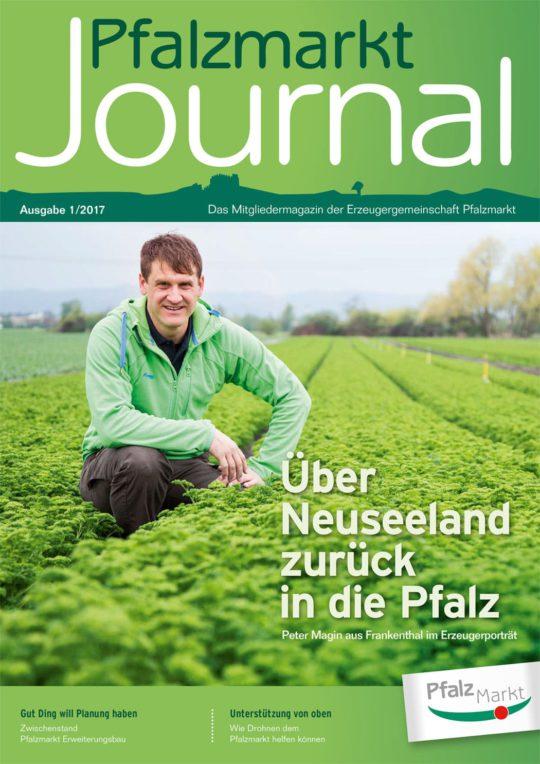 Cover Pfalzmarkt Journal, Ausgabe 2017-1
