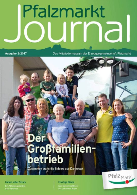 Cover Pfalzmarkt Journal, Ausgabe 2017-2