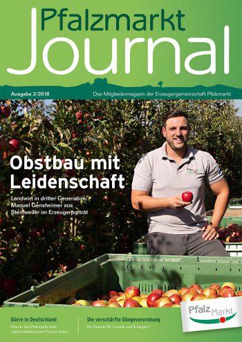 Cover Pfalzmarkt Journal, Ausgabe 2018-2