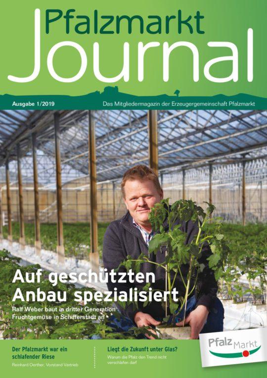 Cover Pfalzmarkt Journal, Ausgabe 2019-1