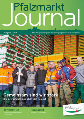 Cover Pfalzmarkt-Journal 2020-1