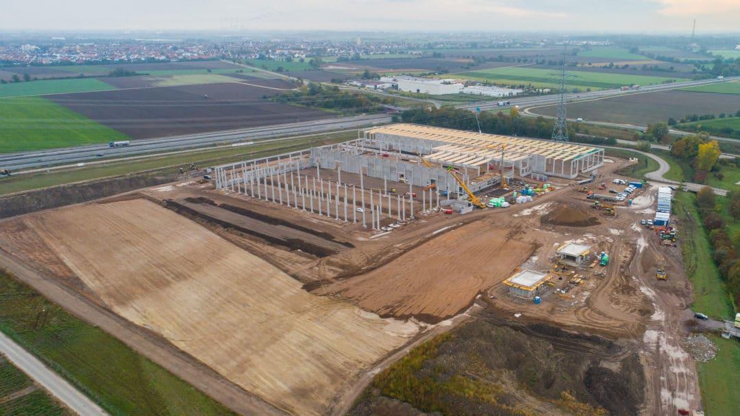 Pfalzmarkt Baustelle Standorterweiterung 2020