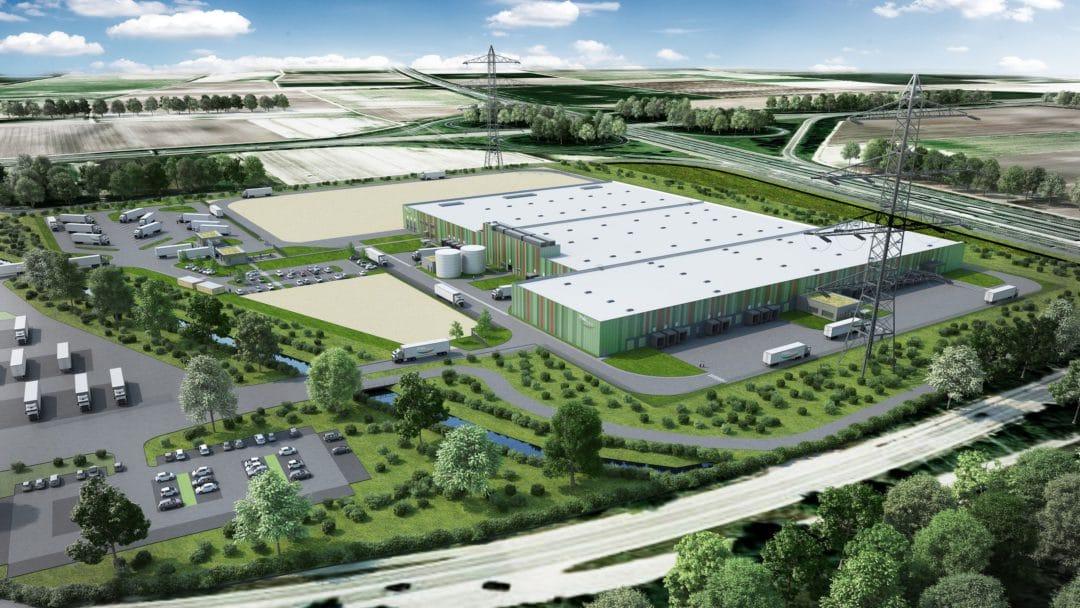 Pfalzmarkt Standorterweiterung neues Logistikzentrum Modell