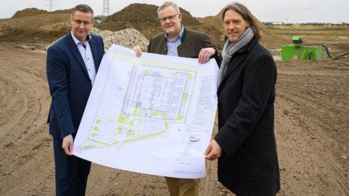Baustart Standorterweiterung Pfalzmarkt eG Mutterstadt