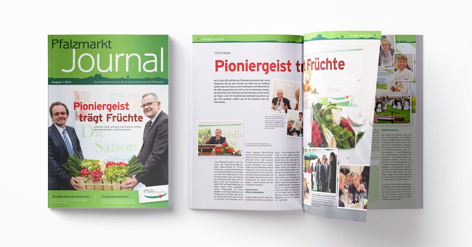 Pfalzmarkt Journal Ausgabe 1-2012