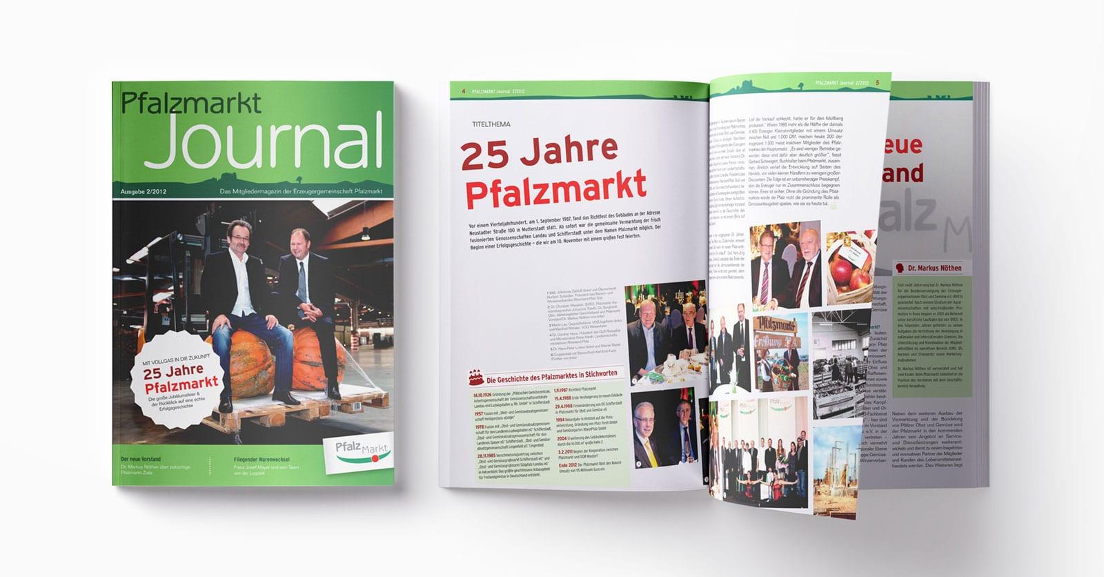 Pfalzmarkt Journal Ausgabe 2-2012