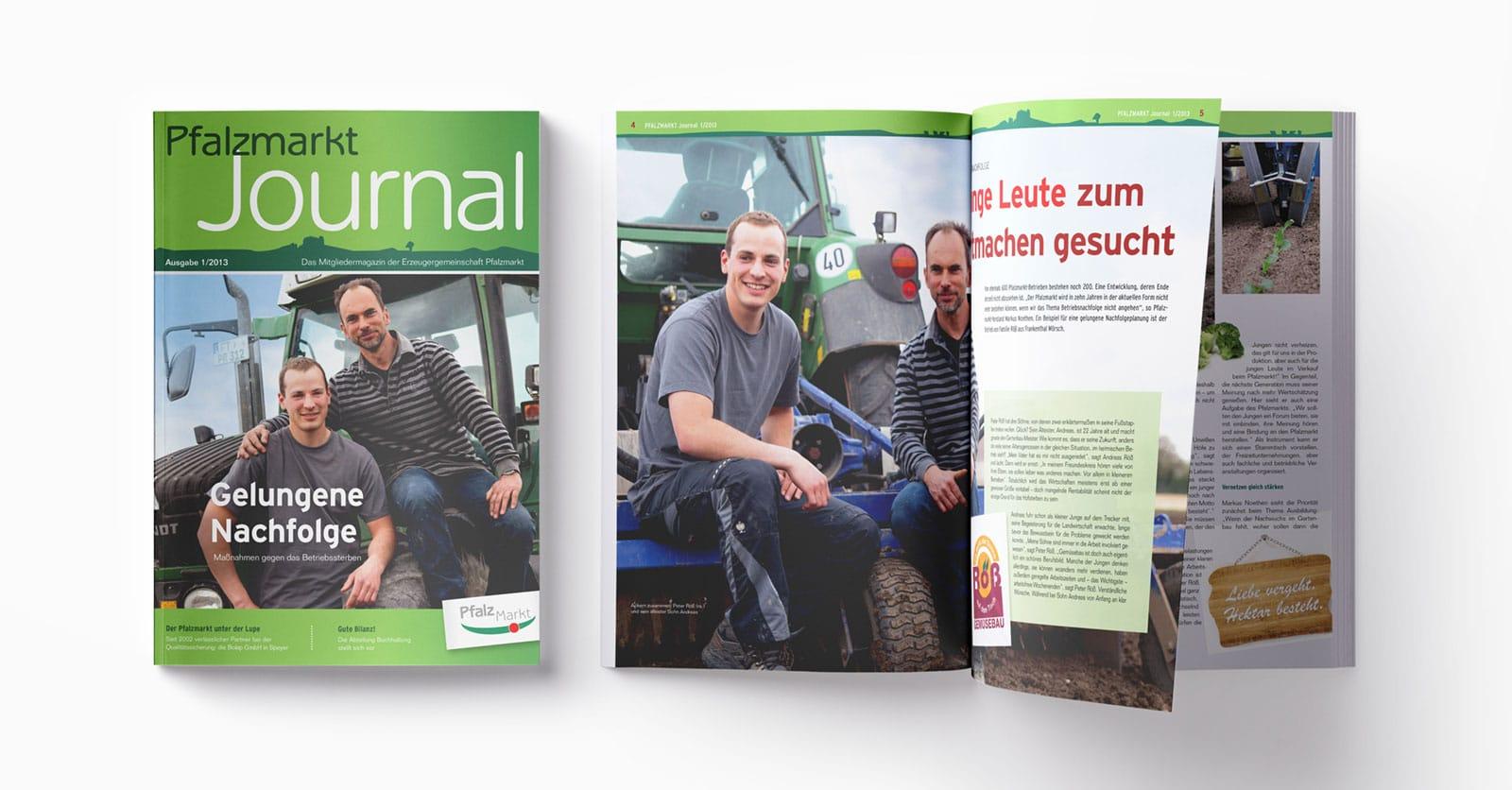 Pfalzmarkt Journal Ausgabe 1-2013