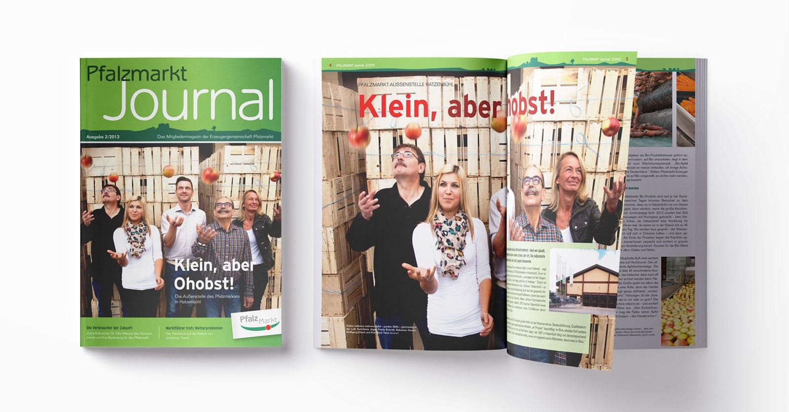 Pfalzmarkt Journal Ausgabe 2-2013