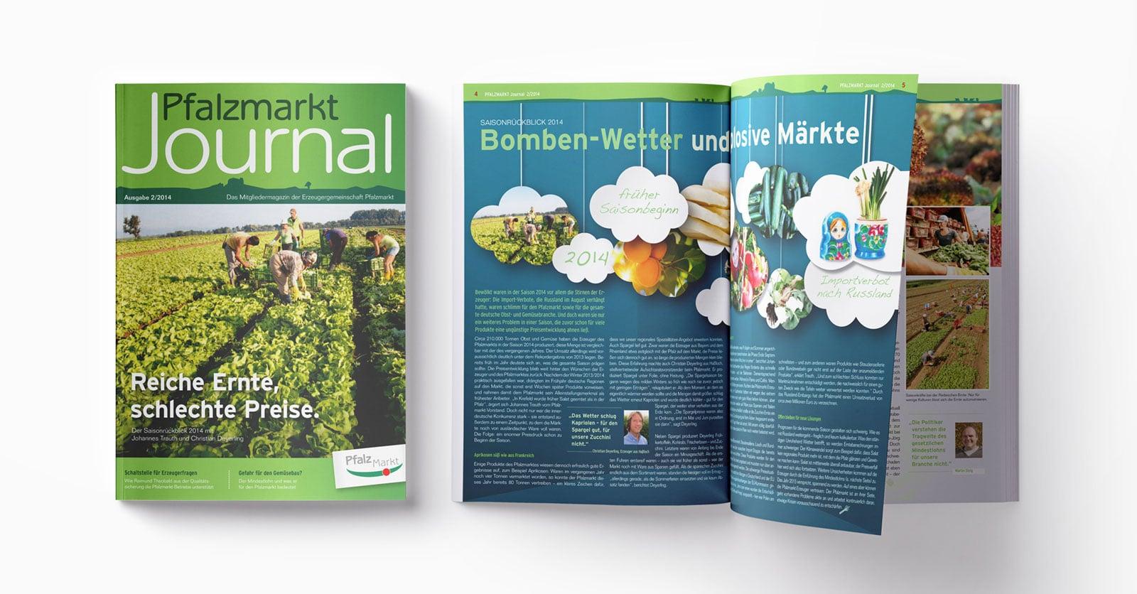 Pfalzmarkt Journal Ausgabe 2-2014