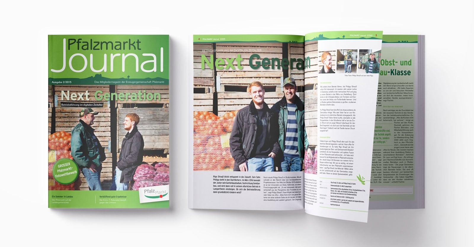 Pfalzmarkt Journal Ausgabe 2-2015