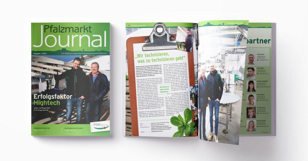 Pfalzmarkt Journal Ausgabe 1-2016