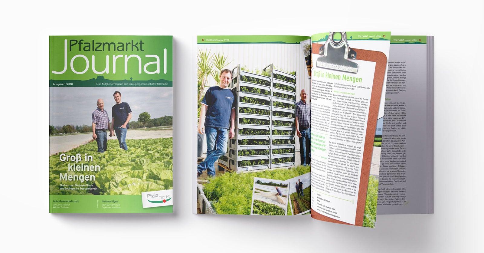 Pfalzmarkt Journal Ausgabe 1-2018