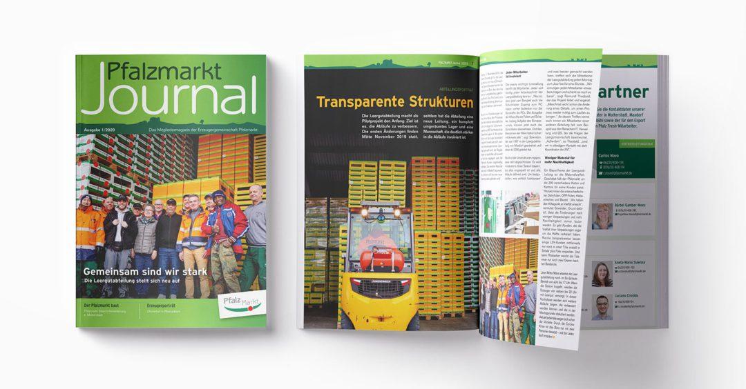 Pfalzmarkt Journal Ausgabe 1-2020